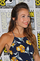 SAN DIEGO - July 22:  Dominique Provost-Chalkley at Comic-Con Saturday 2017 at the Comic-Con International Convention on July 22, 2017 in San Diego, CA
