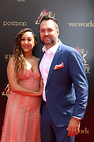 LOS ANGELES - MAY 5:  Tamera Mowry-Housley, Adam Housley at the 2019  Daytime Emmy Awards at Pasadena Convention Center on May 5, 2019 in Pasadena, CA