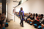 At the Naldo Montanez show at the Prince George Gallery during NYFW 2016.<br /> <br /> Photo by Danny Ghitis for The New York Times