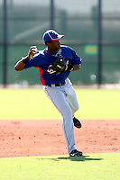Jurickson Profar - Texas Rangers - 2010 Instructional League.Photo by:  Bill Mitchell/Four Seam Images..