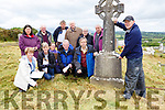 John Tierney from Eachtra and the volunteers who documented all the graves in the old Kilcummin graveyard on Friday front row l-r: Mary Howard, Siobhain Fleming, Joan Brosnan, Paddy O'Sullivan, John Daly. Back row: Mary Ryan, Michael Leane, Batt Brosnan, Dermot Keane, Catriona Dunlea and Michael Kelly