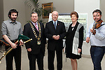 Brenda McCreanor, Mayor Paul Bell, Canadian Ambassador to Ireland, Loyola Hearn, Lolo Robinson and Barry Kieran in the d Hotel when the Ambassador visited Drogheda....Photo NEWSFILE/Jenny Matthews.
