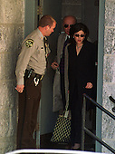 Ellicott City, MD - December 16, 1999 -- Monica Lewinsky departs Howard County (Maryland) Court after testifying in the Linda Tripp wiretap case on 16 December, 1999..Credit: Ron Sachs / CNP