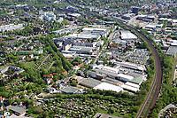 Hauni Werke und Gewerbe: EUROPA, DEUTSCHLAND, HAMBURG, (EUROPE, GERMANY), 25.04.2019:  Hauni-Werke in Hamburg Bergedorf