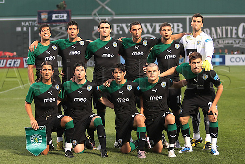 21 JUL 2010:  Sporting. Celtic defeated  Sporting Clube de Portugal 6-5 on penalty kicks in an international friendly match, part of the Fenway Football Challenge, at Fenway Park in Boston, Massachusetts on July 21, 2010.