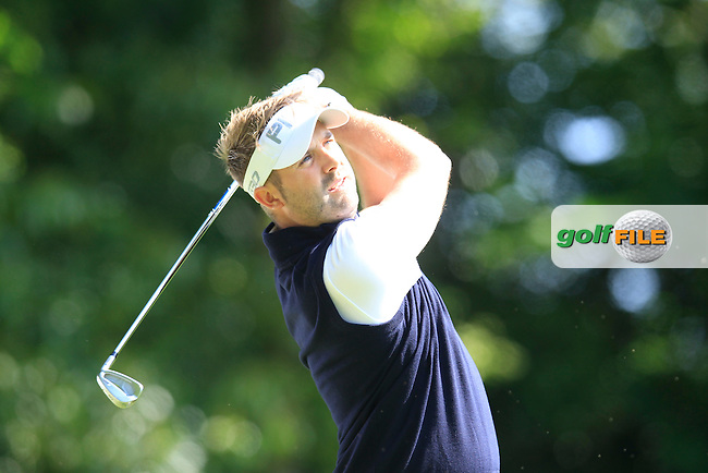 Matthew BALDWIN (ENG) during round 1 of the 2015 BMW PGA Championship over the West Course at Wentworth, Virgina Water, London. 21/05/2015<br /> Picture Fran Caffrey, www.golffile.ie: