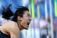 Huihui LYU (CHN) wins the race Javelin Throw Women<br /> Roma 06-06-2019 Stadio Olimpico, <br /> IAAF Diamond League Golden Gala<br /> Meeting Atletica Leggera <br /> Photo Cesare Purini / Insidefoto