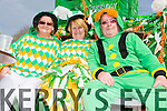 Enjoying the Castlemaine St Patrick's day parade were, Bridget Malley, Mai Kerrisk and Mike Flynn from  Knightly's Bar