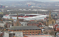 ROTHERHAM TOWN AERIAL IMAGES<br />