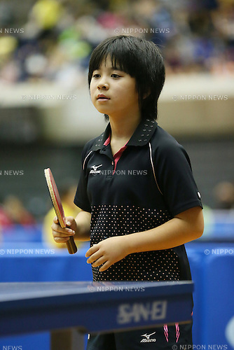 Sewa Hirano, <br /> JULY 27, 2013 - Table Tennis : <br /> All Japan Table Tennis Championships <br /> Women's Hopes Singles <br /> at Green Arena Kobe, Hyogo, Japan. <br /> (Photo by YUTAKA/AFLO SPORT)