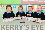 Play time for new junior infants Romeo Hazara, Lily Grace O'Donoghue, Cathal O'Donovan and JJ Landers on last Thursday in the Glenflesk NS.