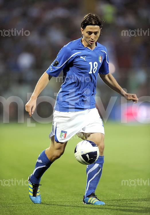 FUSSBALL INTERNATIONAL  EM 2012-Qualifikation  Gruppe C  03.06.2011 Italien - Estland Riccardo Montolivo (Italien)