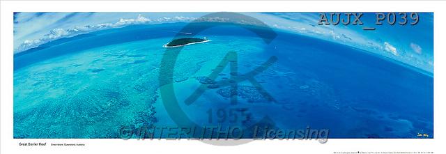 Dr. Xiong, LANDSCAPES, panoramic, photos, Green Island, Australia(AUJXP039,#L#)