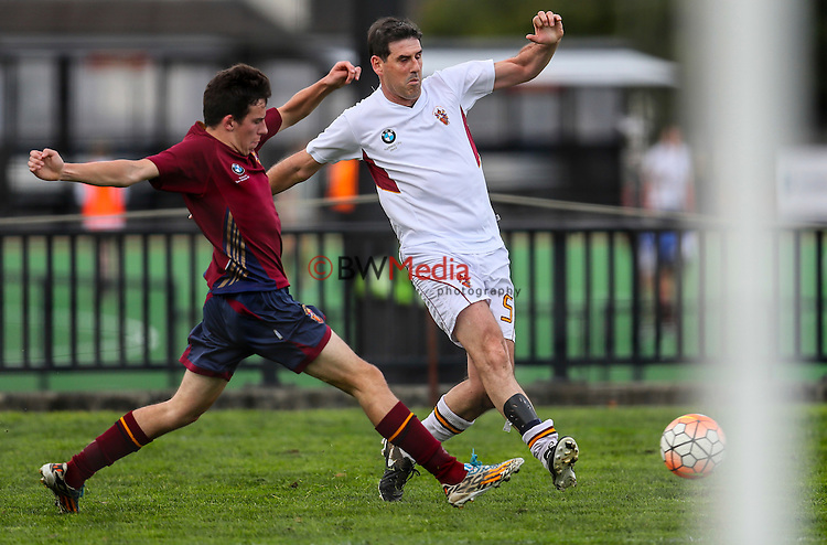 KCOCA Football v Kings College 1st XI, KIngs College, Wednesday 27 July 2016. Photo: Simon Watts/www.bwmedia.co.nz for Kings College