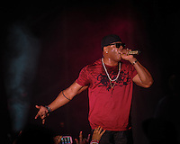 LL Cool J performing at Festival of the Lakes at Wolf Lake Park Pavilion Saturday