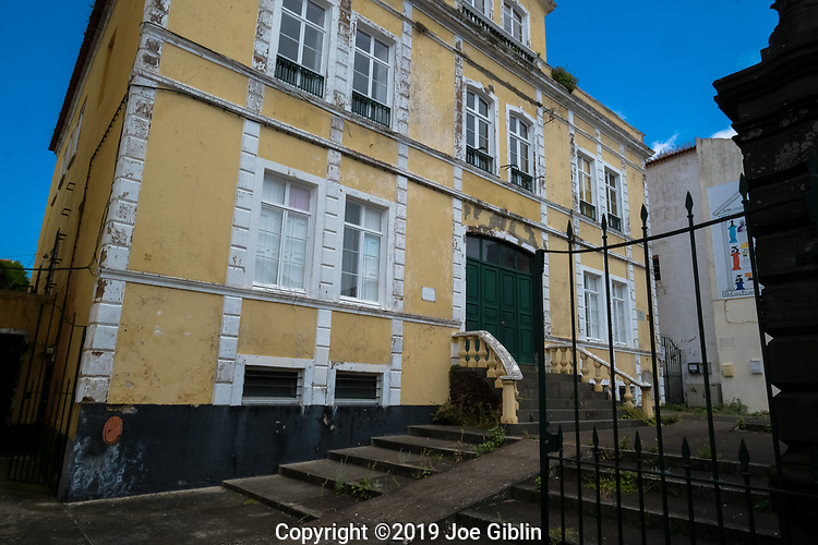 Portugal 6/19 Street scenes in Ponta Delgada, Sao Miguel, Portugal, the target island in the Azores.