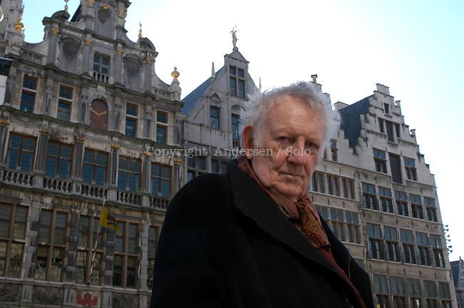 Hugo Claus, Belgian writer.