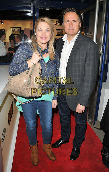 Wendy Turner Webster and Gary Webster at the &quot;Remembering Elephants&quot; VIP private view, La Galleria Pall Mall, Pall Mall, London, England, UK, on Tuesday 20 September 2016.<br /> CAP/CAN<br /> &copy;CAN/Capital Pictures