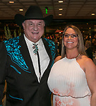 Lance Gilman and Jennifer Barnes during the Nevada Humane Society's 3rd  annual Heels & Hounds event at the Atlantis Resort and Spa in Reno on April 9, 2017.