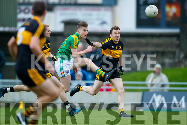 Luke Quinn  Dr Crokes in action against Robert Wharton South Kerry in the Senior County Football Final in Austin Stack Park on Sunday