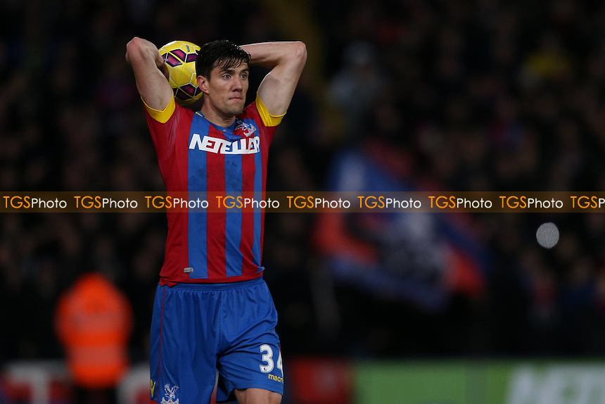 Martin Kelly of Crystal Palace - Crystal Palace vs Aston Villa - Barclays Premier League Football at Selhurst Park, London - 02/12/14 - MANDATORY CREDIT: Simon Roe/TGSPHOTO - Self billing applies where appropriate - contact@tgsphoto.co.uk - NO UNPAID USE