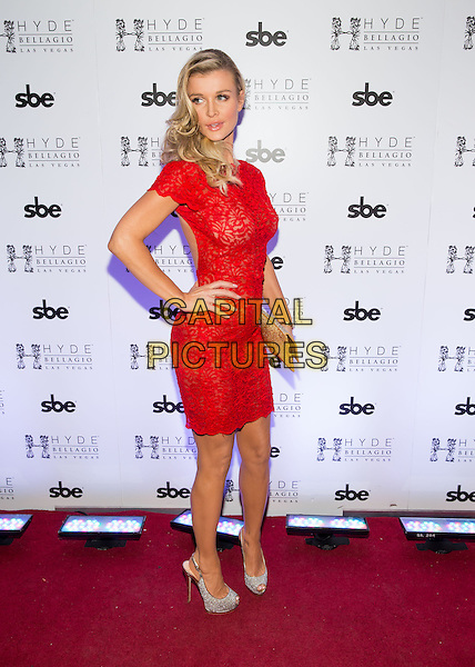 LAS VEGAS, NV - February 1: Joanna Krupa hosts pre Super Bowl party at HYDE at Bellagio in Las Vegas, NV on February 1, 2014. <br /> CAP/MPI/RTNRDK<br /> &copy;RTNRDK/MPI/Capital Pictures