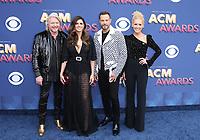 15 April 2018 - Las Vegas, NV - Little Big Town.  2018 ACM Awards arrivals at MGM Grand Garden Arena. <br /> CAP/ADM/MJT<br /> &copy; MJT/ADM/Capital Pictures