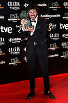 Actor Javier Pereira attends Goya Cinema Awards 2014 red carpet at Centro de Congresos Principe Felipe on February 9, 2014 in Madrid, Spain. (ALTERPHOTOS/Victor Blanco)