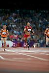 Women's T44 100m heats - London Paralympic Games Athletics 1.9.12
