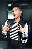 Sep 17, 2013: JANELLE MONAE - Photosession in Paris France