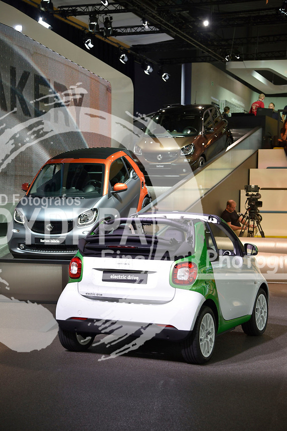 Smart electric drive auf der Internationalen Automobil-Ausstellung 2017 auf dem Messegelände. Frankfurt am Main, 12.09.2017