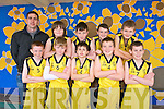 St Bridgets Basketball Club U12 team front l-r Conie O'Connor, Adam Jensen, Mossie Brosnan, Darragh Kenny, Gearoid Coffey,. Back l-r Dan Griffin, Bobbie Carroll, Padraig Hillard, Daniel Keller and Nathan O'Callaghan at the St. Brendan's Basketball Club Tralee U12 invitational tournament at Moyderwell sports hall at the weekend, next year will be called the Jimmy Curran memorial Cup