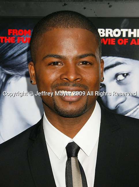 """HOLLYWOOD, CA. - May 20: Craig Wayans arrives at the Los Angeles Premiere of """"Dance Flick"""" at the ArcLight Theatre on May 20, 2009 in Hollywood, California."""