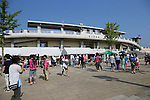 General view, <br /> JULY 12, 2015 - Football / Soccer : <br /> 2015 Plenus Nadeshiko League Division 1 <br /> between NTV Beleza 1-0 AS Elfen Saitama <br /> at Hitachinaka Stadium, Ibaraki, Japan. <br /> (Photo by YUTAKA/AFLO SPORT)