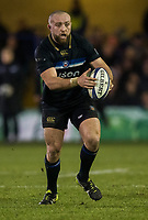 Bath Rugby's Tom Dunn <br /> <br /> Photographer Bob Bradford/CameraSport<br /> <br /> European Champions Cup Round 5 - Bath Rugby v Scarlets - Friday 12th January 2018 - The Recreation Ground - Bath<br /> <br /> World Copyright &copy; 2018 CameraSport. All rights reserved. 43 Linden Ave. Countesthorpe. Leicester. England. LE8 5PG - Tel: +44 (0) 116 277 4147 - admin@camerasport.com - www.camerasport.com