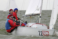 20th SPA Regatta - Medemblik.26-30 May 2004..Copyright free image for editorial use. Please credit Peter Bentley..Felicity Clarke - CAN