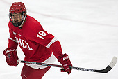 Jared Fiegl (Cornell - 18) - The Harvard University Crimson defeated the visiting Cornell University Big Red on Saturday, November 5, 2016, at the Bright-Landry Hockey Center in Boston, Massachusetts.