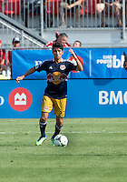 July 20, 2013: New York Red Bulls defender Kosuke Kimura #27 in action during a game between Toronto FC and the New York Red Bulls at BMO Field in Toronto, Ontario Canada.<br /> The game ended in a 0-0 draw.