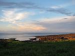 Orchid Island (蘭嶼), Taiwan -- Sunset at Beauty Rock (玉女岩)