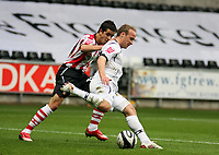 Pictured: Thomas Butler of Swansea City in action <br /> Re: Coca Cola Championship, Swansea City Football Club v Southampton at the Liberty Stadium, Swansea, south Wales 25 October 2008.<br /> Picture by Dimitrios Legakis Photography, Swansea, 07815441513