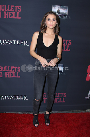 LOS ANGELES, CA - MAY 10: Alexandra Chando  arrives at the '6 Bullets To Hell' Mobile Game Launch Party on May 10, 2016 in Los Angeles, California. Credit: Parisa/MediaPunch.