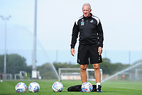 Alan Curtis, assistant coach for Swansea during the Swansea City Training Session at The Fairwood Training Ground, Wales, UK. Thursday 30th August 2018