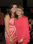Jacqui McQuillan pictured with Maura Rogan at her emigration party at the Venue in McHugh's. Photo: www.pressphotos.ie