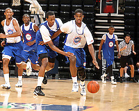 CJ Fair handles the ball during the 2009 NBPA Top 100 Basketball Camp held Friday June 17- 20, 2009 in Charlottesville, VA. Photo/ Andrew Shurtleff
