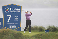 Ian Poulter (ENG) on the 7th tee during Round 2 of the Irish Open at LaHinch Golf Club, LaHinch, Co. Clare on Friday 5th July 2019.<br /> Picture:  Thos Caffrey / Golffile<br /> <br /> All photos usage must carry mandatory copyright credit (© Golffile | Thos Caffrey)