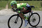 Pierre Rolland (FRA) Cannondale Drapac in action during Stage 8 of the 104th edition of the Tour de France 2017, running 187.5km from Dole to Station des Rousses, France. 8th July 2017.<br /> Picture: ASO/Pauline Ballet | Cyclefile<br /> <br /> <br /> All photos usage must carry mandatory copyright credit (&copy; Cyclefile | ASO/Pauline Ballet)