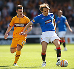 Sasa Papac and Jamie Murphy
