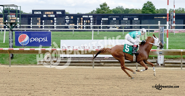 Dr Burn winning at Delaware Park on 9/10/14