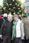 Emmet Humphries and Darina Collins at the Launch of the Rotary Annual Memory Tree...(Photo credit should read Jenny Matthews www.newsfile.ie)....This Picture has been sent you under the conditions enclosed by:.Newsfile Ltd..The Studio,.Millmount Abbey,.Drogheda,.Co Meath..Ireland..Tel: +353(0)41-9871240.Fax: +353(0)41-9871260.GSM: +353(0)86-2500958.email: pictures@newsfile.ie.www.newsfile.ie.