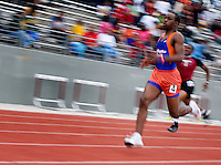 Runners sprint to the finish in the Boys 400 Meter Dash during the Eddie Payne Relays track and field event at John E. Kincaide Stadium in Dallas, Texas, Saturday, March 29, 2008. (NO NAME)..MATT NAGER/ SPECIAL CONTRIBUTER